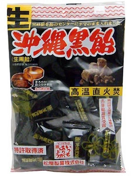 日本松屋沖繩生黑糖