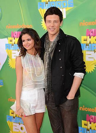 Selena+Gomez+Nickelodeon+cory-monteith