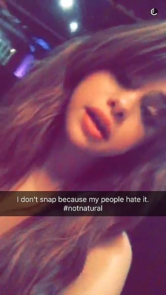 [20160608] Selena via her Snapchat (12)