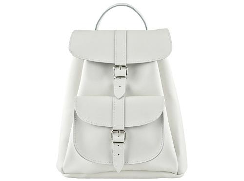SALT_Grafea_White_Leather_Backpack