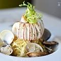 皇冠海鮮義大利麵