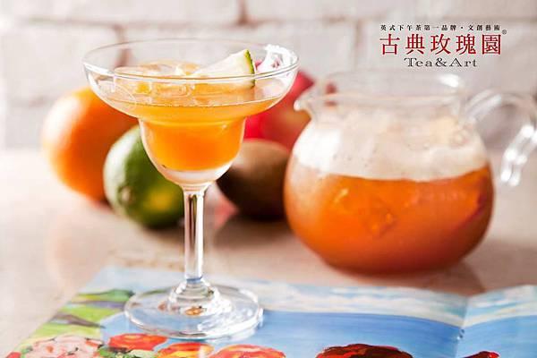 古典玫瑰園經典水果茶