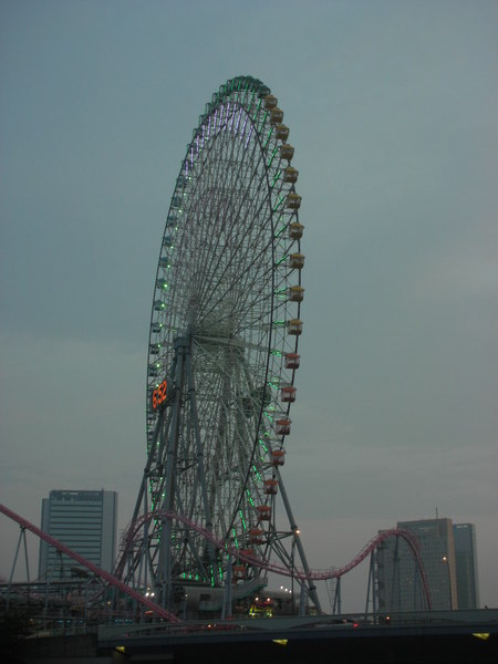 橫濱的大摩天輪
