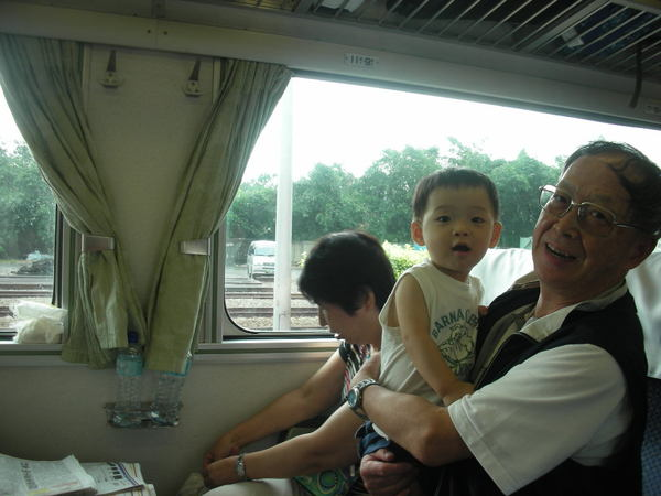 我喜歡坐火車
