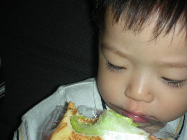 我只能吃麵包