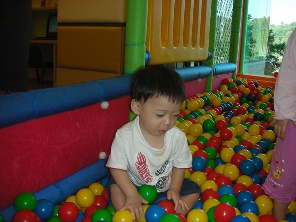 佑醬超愛這個兒童遊樂區