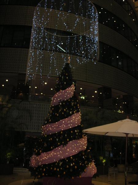 新橫濱王子飯店的聖誕樹