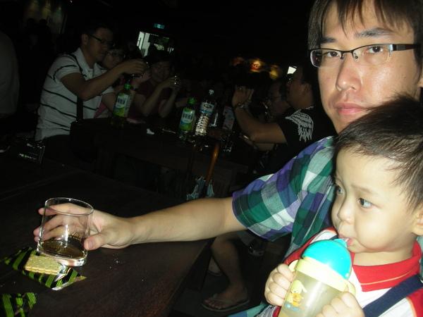 我家的酒都給老爺喝光了