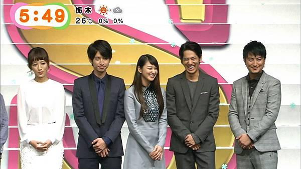 20140923めざましテレビ-「クローバー」試写会