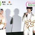 20141114 めざましテレビ『クローバー』大ヒット舞台挨拶