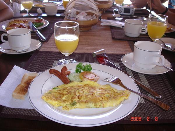 第一天的早餐