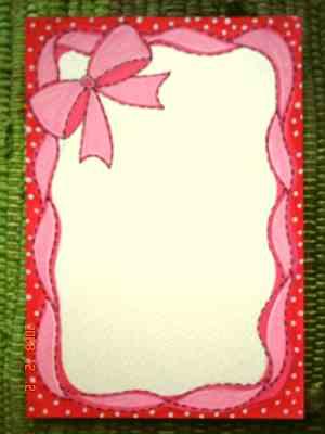 971202可愛版萬用名信卡  二款二張