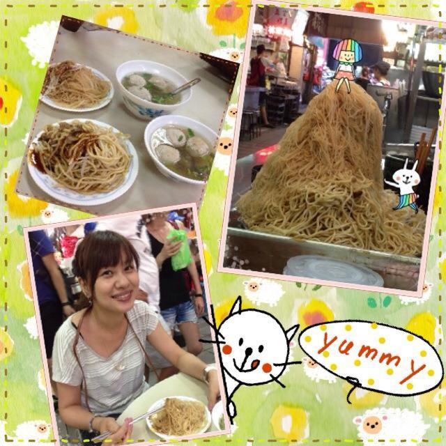 20130802新竹廟口的炒米粉與貢完湯.jpg