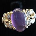 紫玉髓戒指