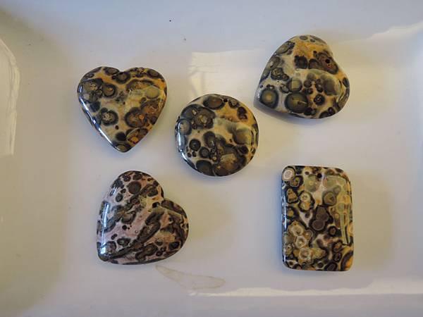 豹紋石拼盤