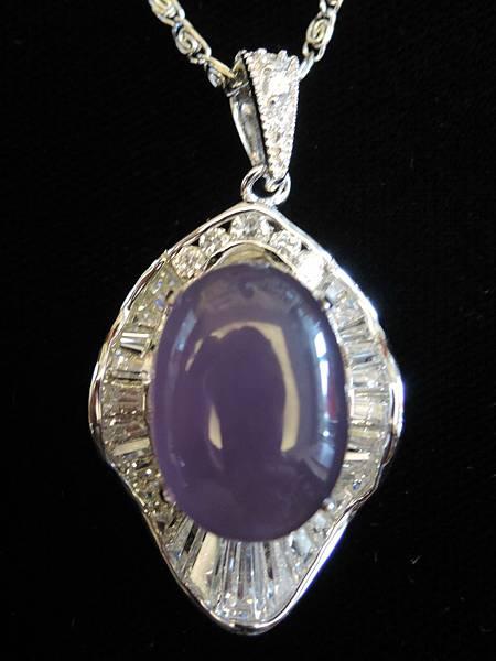 紫玉髓項鍊