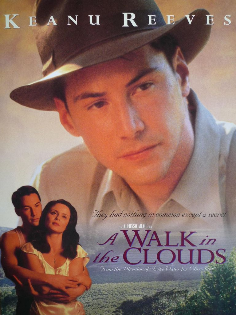 Keanu Reeves A Walk in the Clouds pamphlet front.jpg