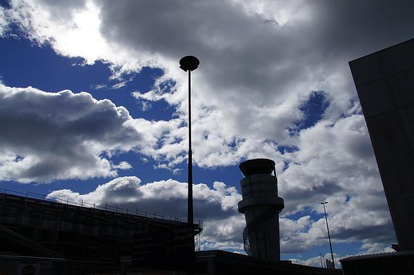 基督城機場的天空