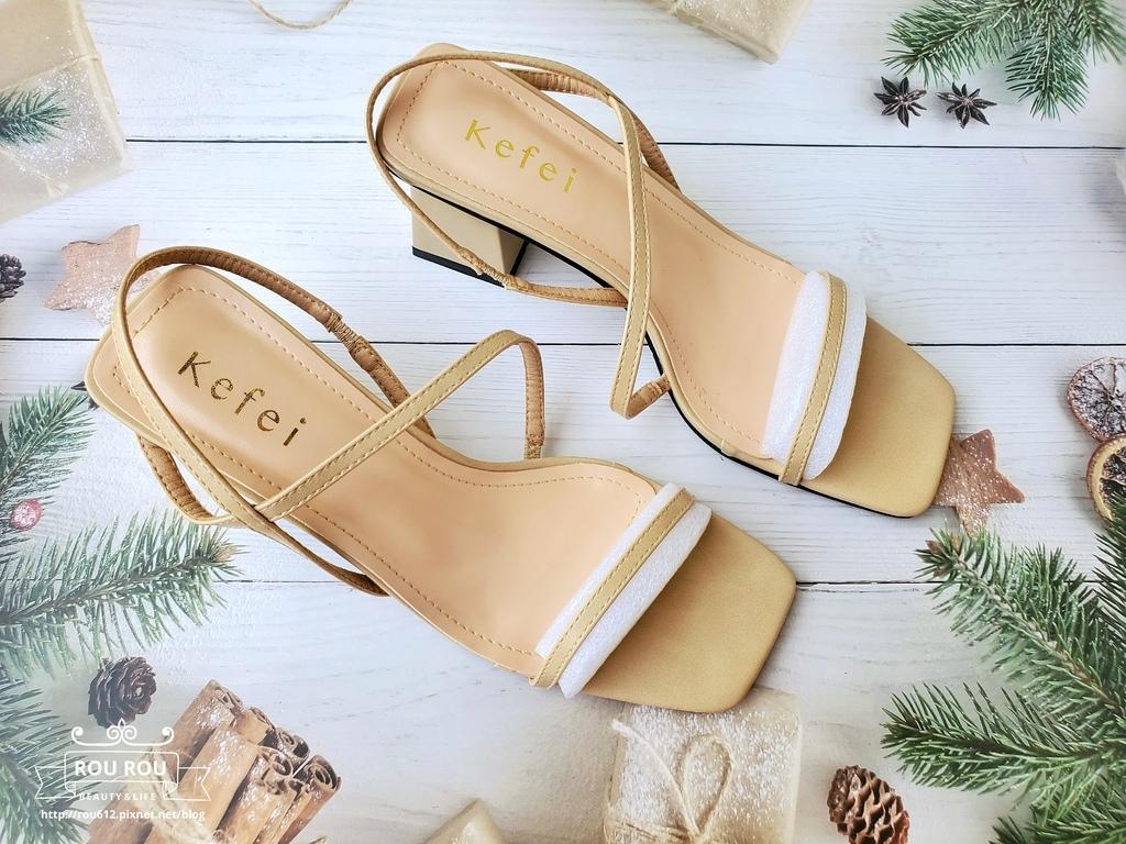 kefei 頂級鞋包性感S曲線方頭繫帶涼跟鞋8.jpg