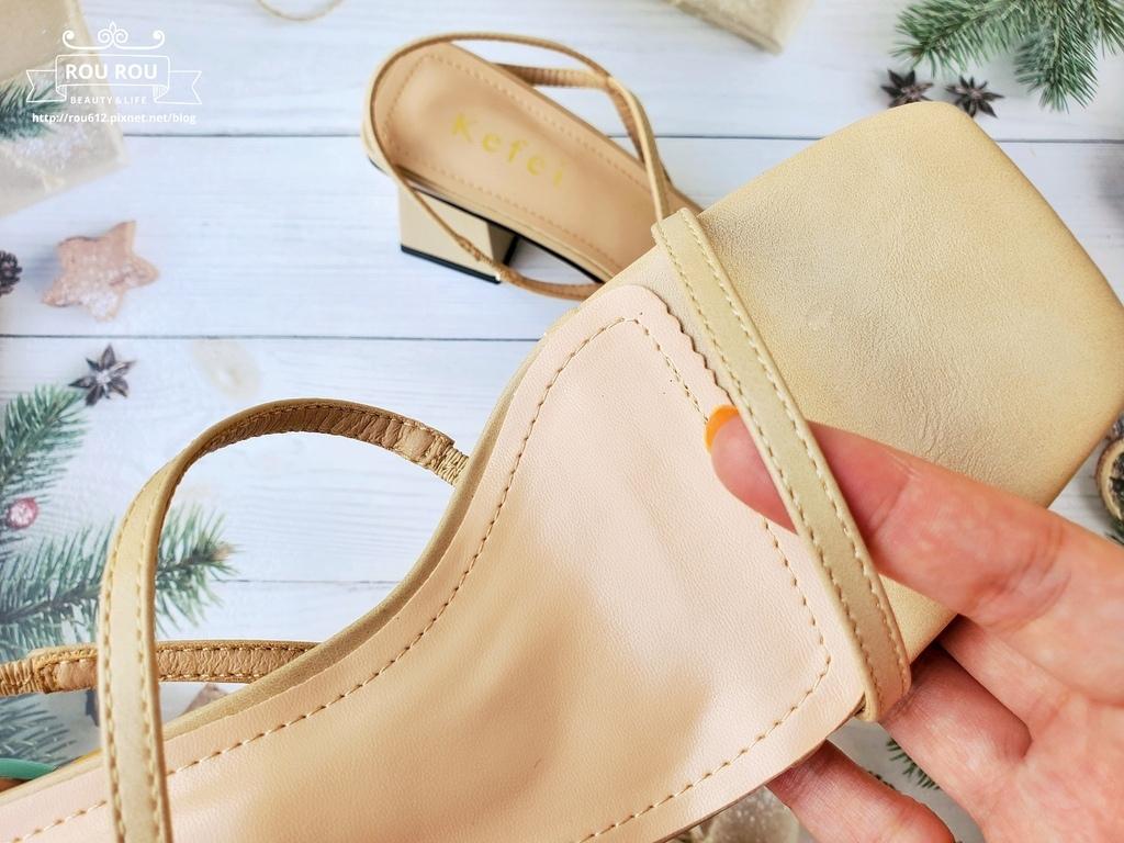 kefei 頂級鞋包性感S曲線方頭繫帶涼跟鞋11.jpg