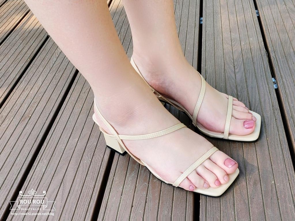 kefei 頂級鞋包性感S曲線方頭繫帶涼跟鞋16.jpg