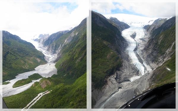 在直昇機上看冰河