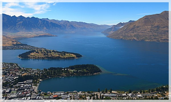 Queenstown under Skyline