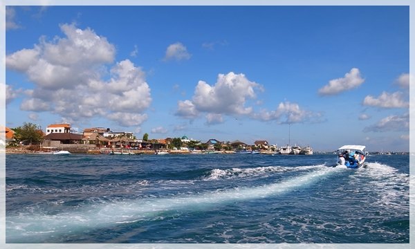 巴里島。出發到海龜島1