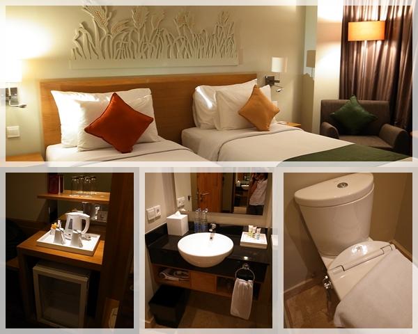 巴里島。Mercure Bali Harvestland Hotel 房間