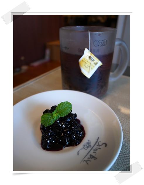 伯爵紅與藍莓醬