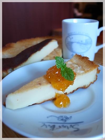 優格起司蛋糕+橘子醬