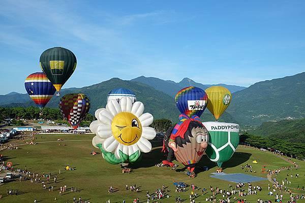 台東。2014熱氣球嘉年華1