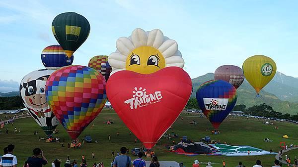 台東。2014熱氣球嘉年華6