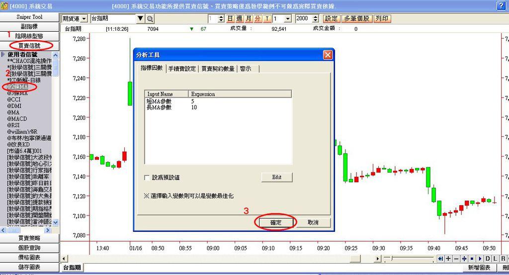 期貨程式交易1