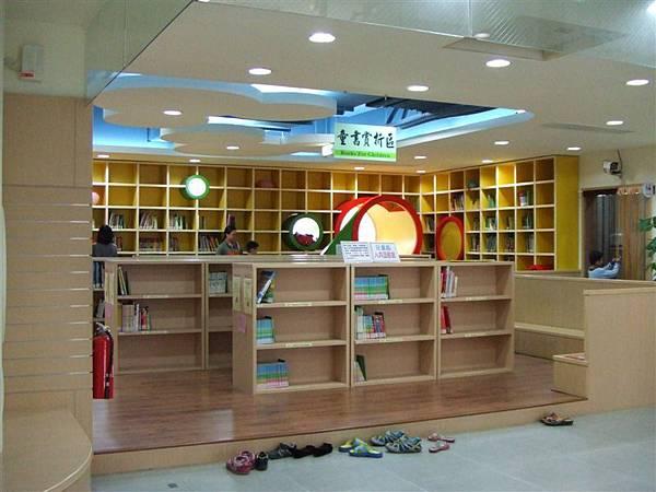 這是兒童閱覽區的入口