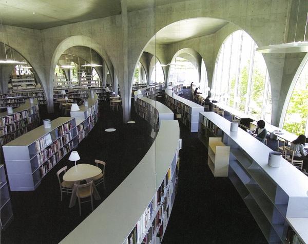 圖書館內部空間