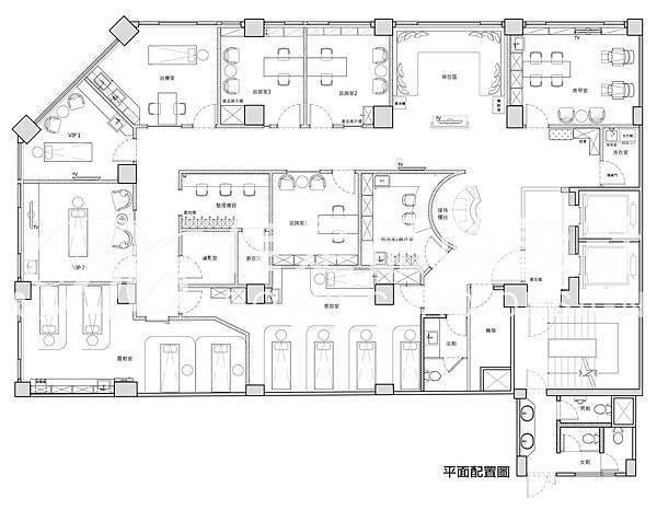 館前路20號4樓 淨妍醫美-平立面圖-平面圖.jpg