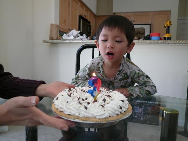 和小朋友過生日
