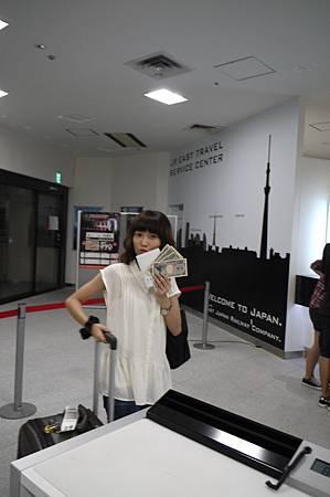 我們買單程,¥3500內附¥1500的SUICA(類似我們的悠遊卡)