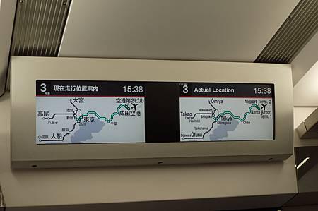 這是這班N'EX的行駛路線