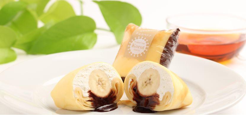 香蕉巧克力