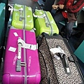 繽紛行李箱
