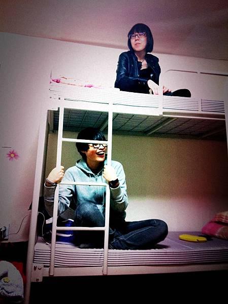 小鳳看起來很high