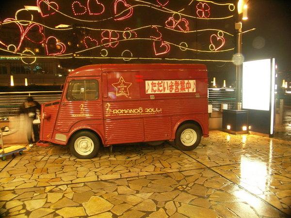 雪鐵龍咖啡車