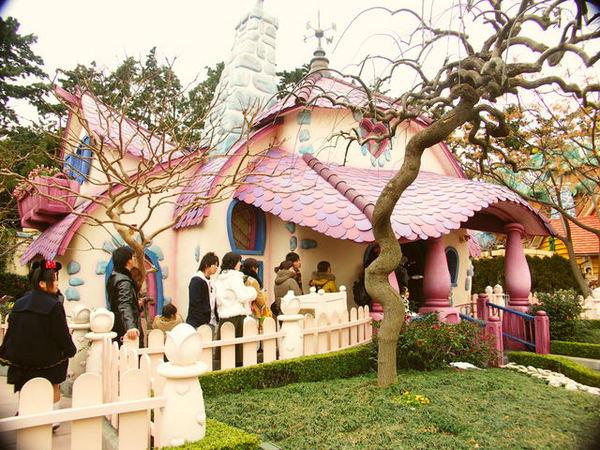 粉紅色米妮家