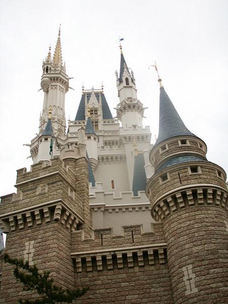 迪士尼公主們的城堡