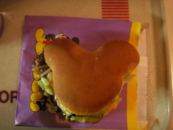 迪士尼的漢堡