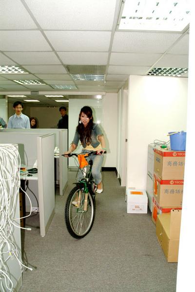 林小光的海尼根腳踏車