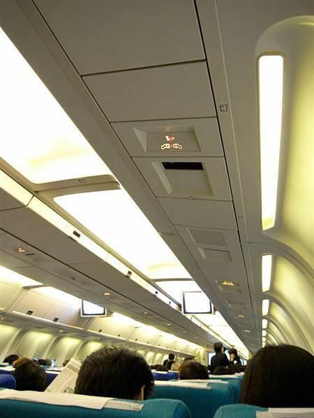 飛機上都是長得一樣