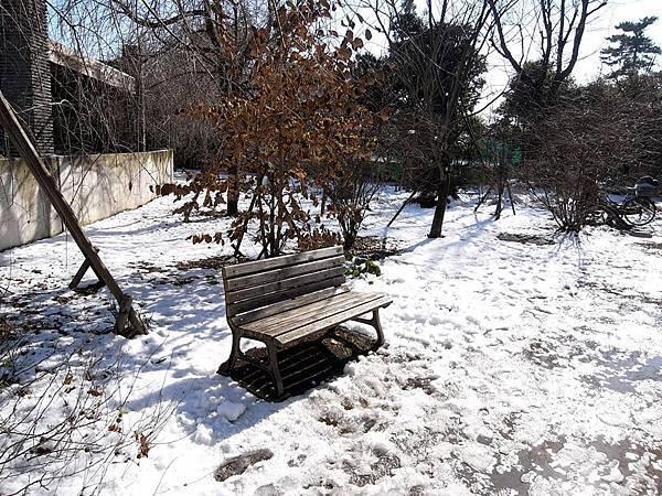 積雪的公園~好偶像劇